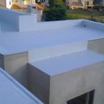 Cobertura impermeabilizada com membrana em PVC