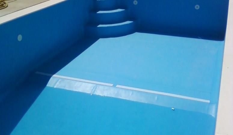 Membranas em PVC nas piscinas